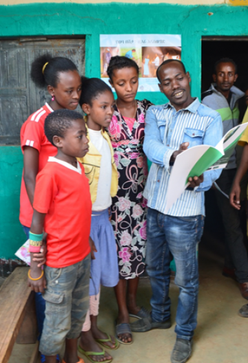 Latest News School children spread the word about malaria prevention