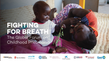 Latest News Malaria consortium to present at inaugural global forum on childhood pneumonia