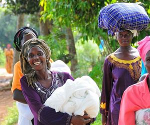 Photo for Historic campaign delivers mosquito nets to every household across Uganda