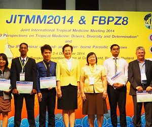 Photo for Malaria Consortium at the Joint International Tropical Medicine Meeting 2014