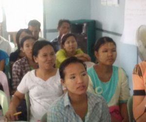 Photo for Myanmar community members spearhead novel approach to eliminate dengue
