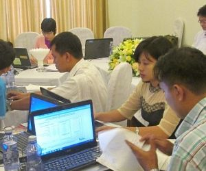 Photo for Training for improved surveillance and data management in Myanmar