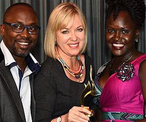 Photo for Malaria Consortium Uganda project wins communications award at African Excellence Awards
