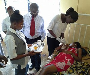 Photo for Success treating severe malaria in Nigeria