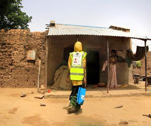 Photo for Bringing SMC to your door: Adapting mass drug distribution methods to the needs of the community in Niger