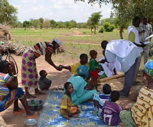 Photo for Malaria Consortium placed as a GiveWell top charity