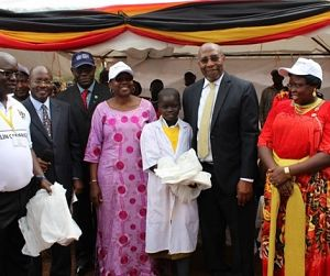 Photo for Uganda launches record net campaign to fight malaria