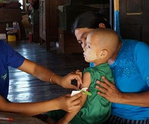 Photo for Remote, rural populations in Myanmar receive improved healthcare