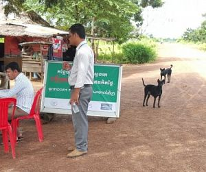 Photo for Targeting malaria hotspots in Cambodia by strengthening infrastructure