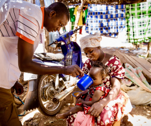 Photo for Malaria Consortium programme chosen as 'top charity' by GiveWell for third year running