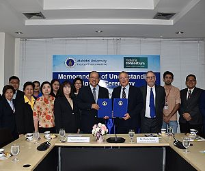 Photo for Malaria Consortium renews its partnership with the Faculty of Tropical Medicine, Mahidol University
