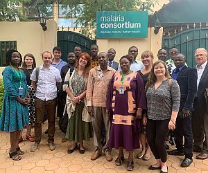 Photo for GiveWell delegation visits our seasonal malaria chemoprevention programme in Burkina Faso