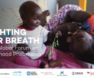 Photo for Malaria Consortium to present at inaugural Global Forum on Childhood Pneumonia