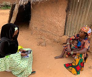 Photo for Agile response spells scale up success for 2020 seasonal malaria chemoprevention campaigns