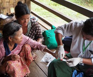 Photo for Malaria prevalence study using blood samples finds large hidden infection reservoir in Myanmar