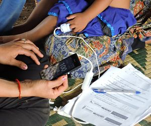 Photo for New research shows handheld pulse oximeters are suitable tools for frontline health workers in detecting severe illness in children under five in resource-poor countries