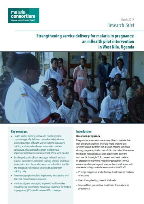 Malaria Consortium - Disease control, better health