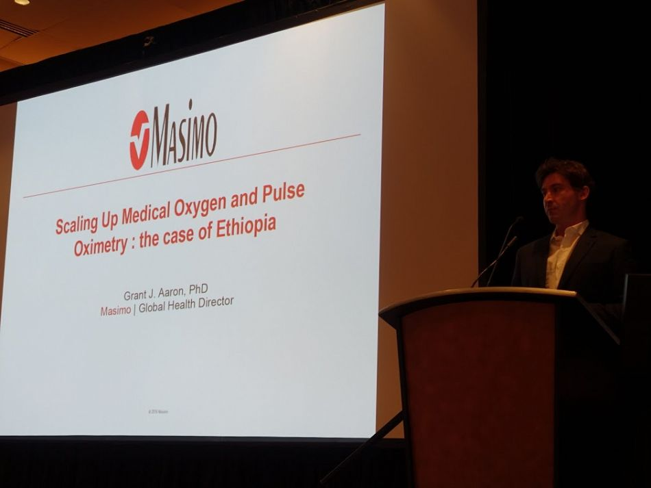 pMasimo Global Health Director Grant Aaron presents scaling up medical oxygen and pulse oximetry the case of Ethiopiap