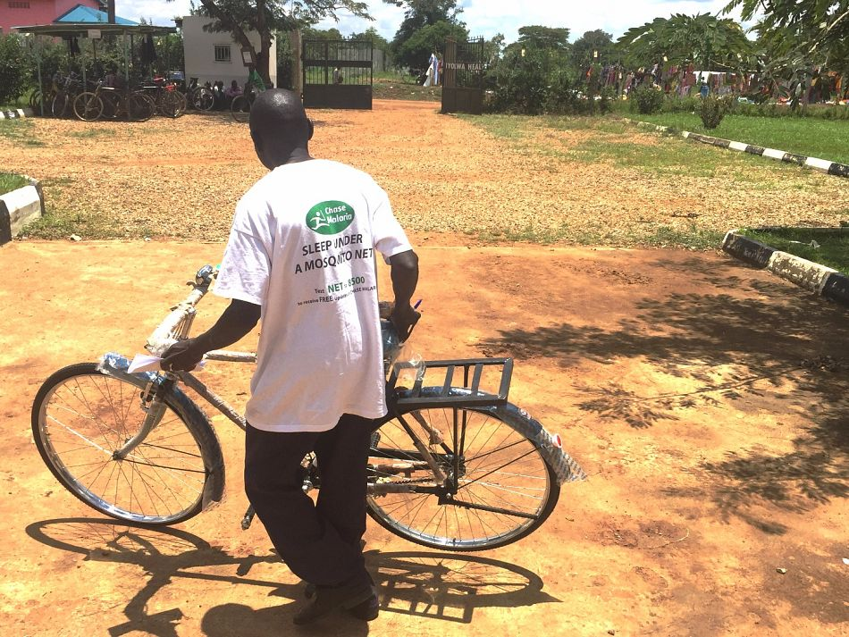 pAfter the ceremony they return to their villages These new bicycles will allow them to reach more households each day and therefore treat more people who have malaria pneumonia or diarrhoeanbspin the communityp