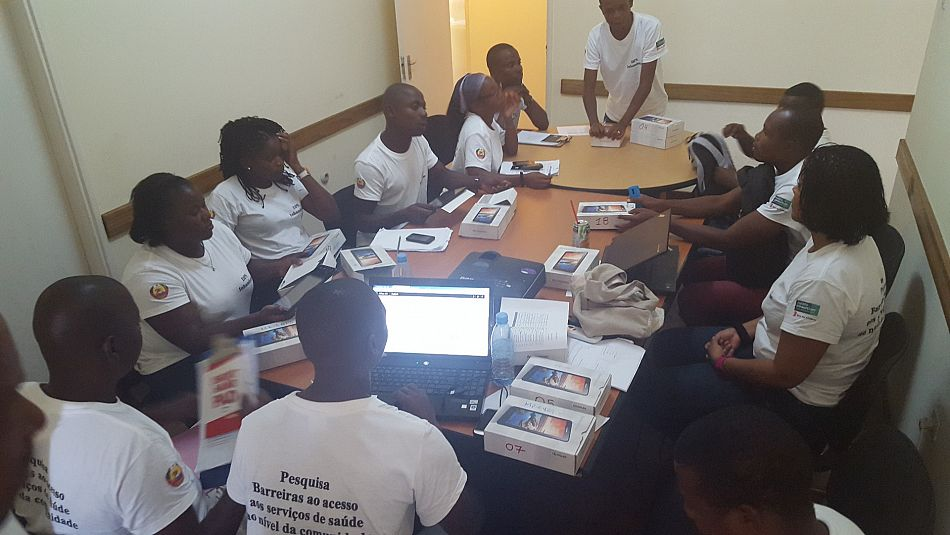 pspan classTextRun SCX262516180 langENUS xmllangENUSspan classNormalTextRun SCX262516180Training of researchers and testing of survey tools in close collaboration with the provincial health directorate at Malaria Consortiums Inhambane officespanspanp