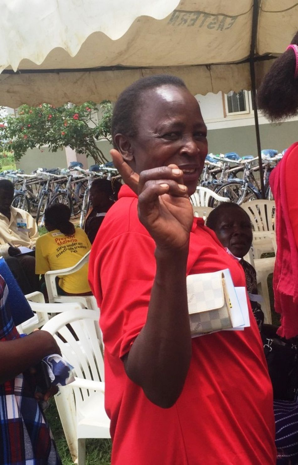 pHer colleague Ms Jane Odoi village health team member at Auyo B Village said ldquoThank you so much Malaria Consortium may God richly bless all the hands that have given to us These bicycles are really going to make our work easier since we can reach our patients quicker The bicycles are also of good quality and the spare parts are easily available here I will keep mine for a very long time to serve my people Thank yourdquop