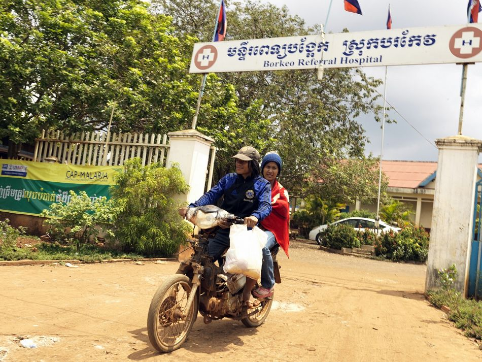 pCommunity members leaving Borkeo Referral Hospital Ratanakiri after having participated in the device testing A total number of 402 children were assessed during this stagebr br Copyright Malaria ConsortiumPeter Catonp