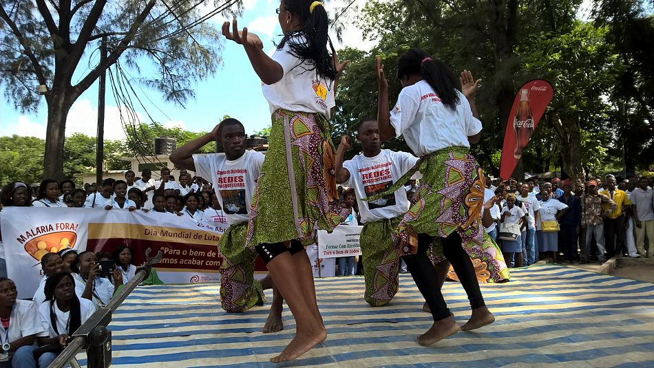 pMalaria Consortium was one of many organisations that participated in World Malaria Day activities in Nampula province in Mozambique There were song and dance performances pictured above as well as a march through the city a health fair and speeches from the US Ambassador and the Health Minister nbspp
