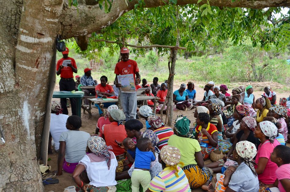 pWe work at community level to facilitate community dialogues which provide an opportunity for villagers to discuss health problems facing the community and come up with solutions to address them In this photo a dialogue brings together local residents to discuss how they can prevent malaria in their community In this photo a dialogue brings together local residents to discuss how they can prevent malaria in their communityp