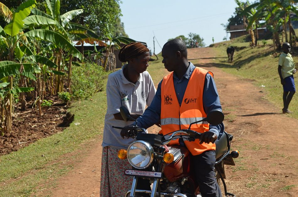 pIn Uganda with funding from Comic Relief we have supported motorcycle taxi drivers called embodabodas emto handle the transport of sick children to health facilities in Mbale district Community health workers give these drivers vouchers indicating the amount that the health facility should pay the driver depending on the distance travelledp