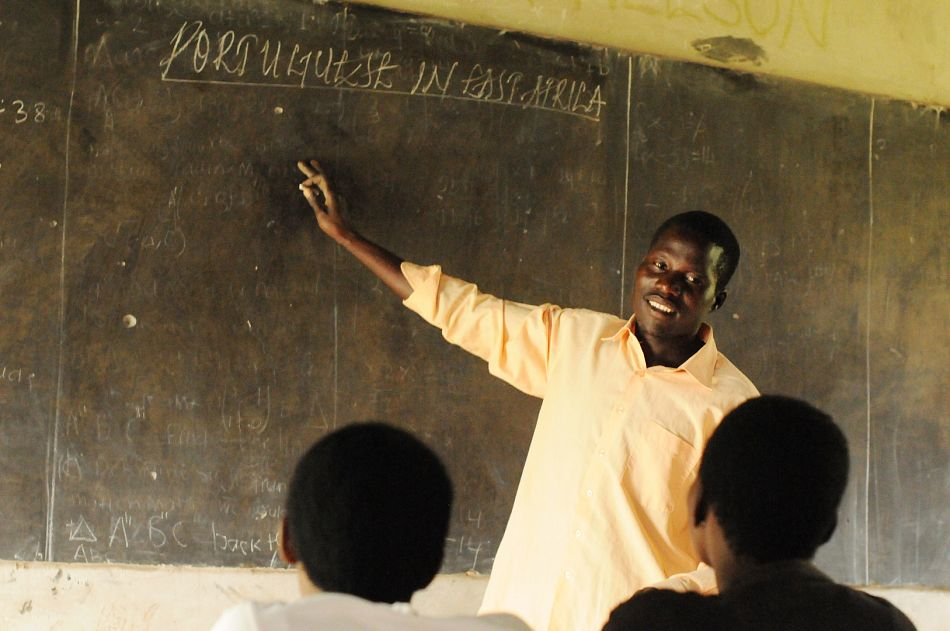 pAndama Godfrey is a VHT in Kadekuru 2 village in Masindi district He teaches history at the local secondary schoolp
