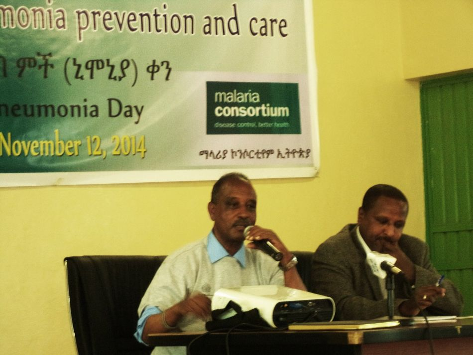 pDr Agonafer addressing key note message at an advocacy event Advocacy workshop organized to observe 2014 WPD on Nov 15 2014 at Hawassa Cityp