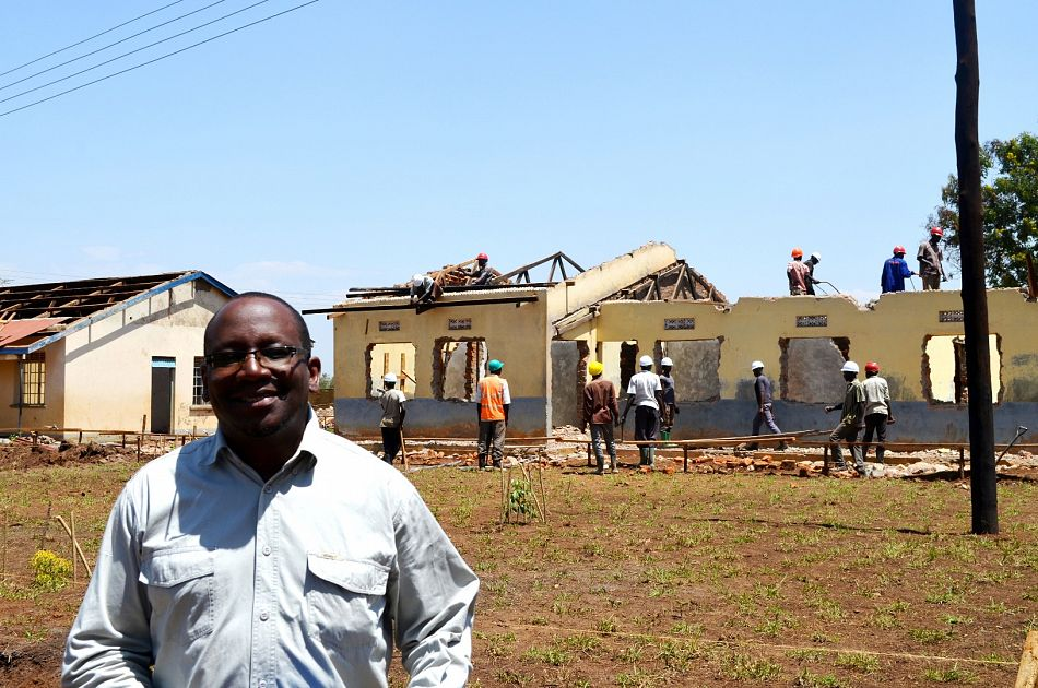 pGonza Kagwa Project Architect is on site everyday monitoring the progress of the renovationnbspp