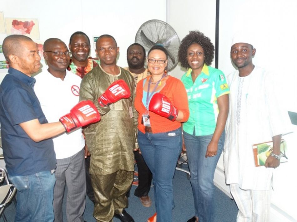 pMalaria Consortium Nigeria DFID and commercial sector partners of SuNMaP gear up to defeat malaria on the occcasion of World Malaria Day 2015p