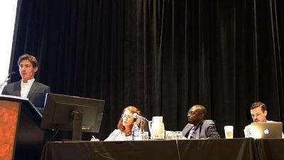 Panel photo from the pneumonia symposium