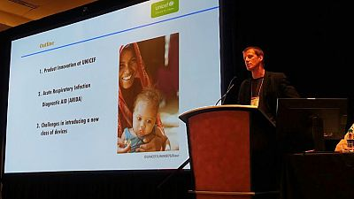 Kristoffer Gandrup- Marino - Chief of Innovation, UNICEF Supply Division and presenter on the Acute Respiratory Infection Diagnostic Aid (ARIDA) project