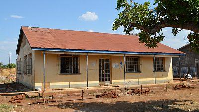 Iyolwa Health Centre III before refurbishment began.