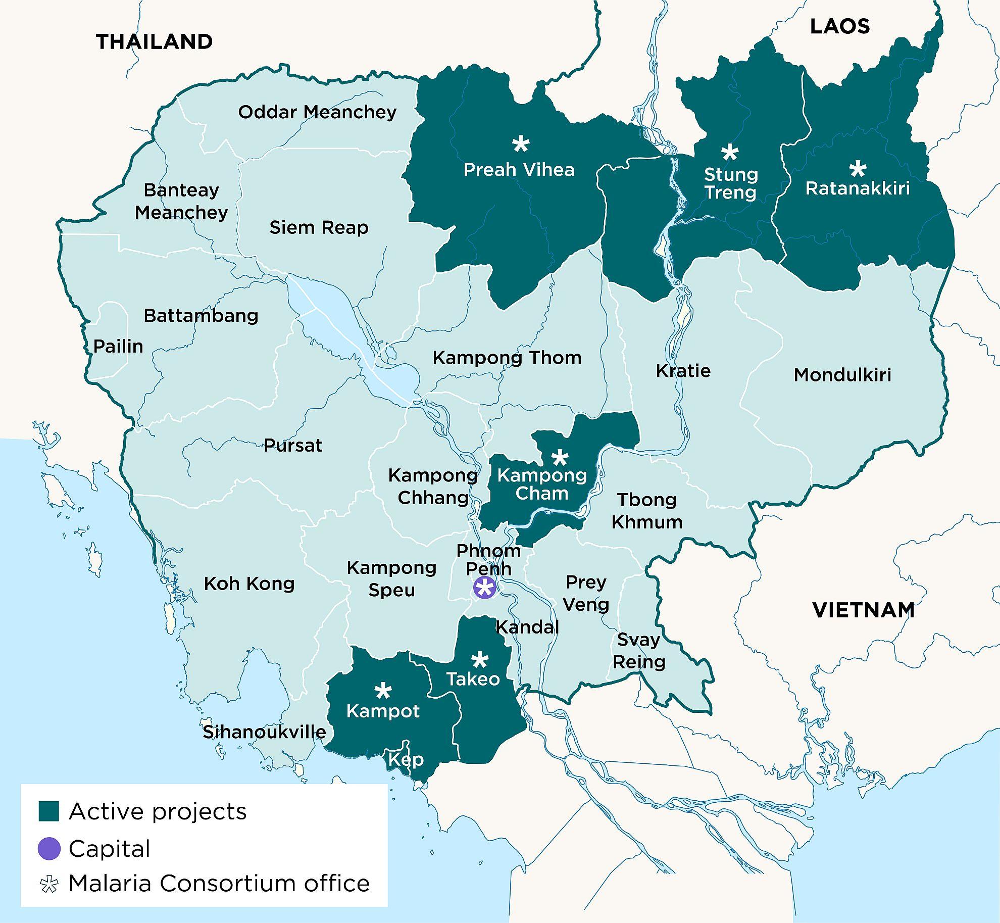 Malaria Consortium - Our work in Cambodia - Malaria ...